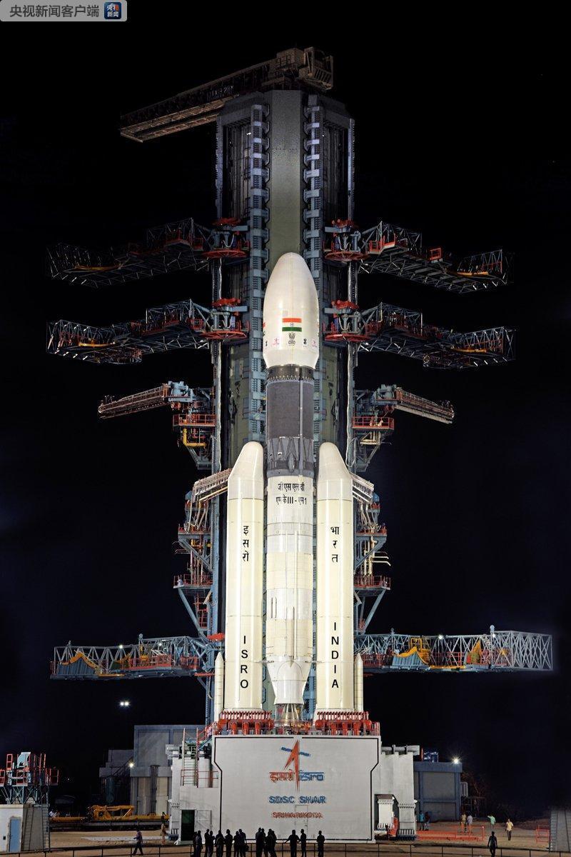 """印度""""月船2號""""發射因技術故障臨時取消 登月計劃遭推遲"""